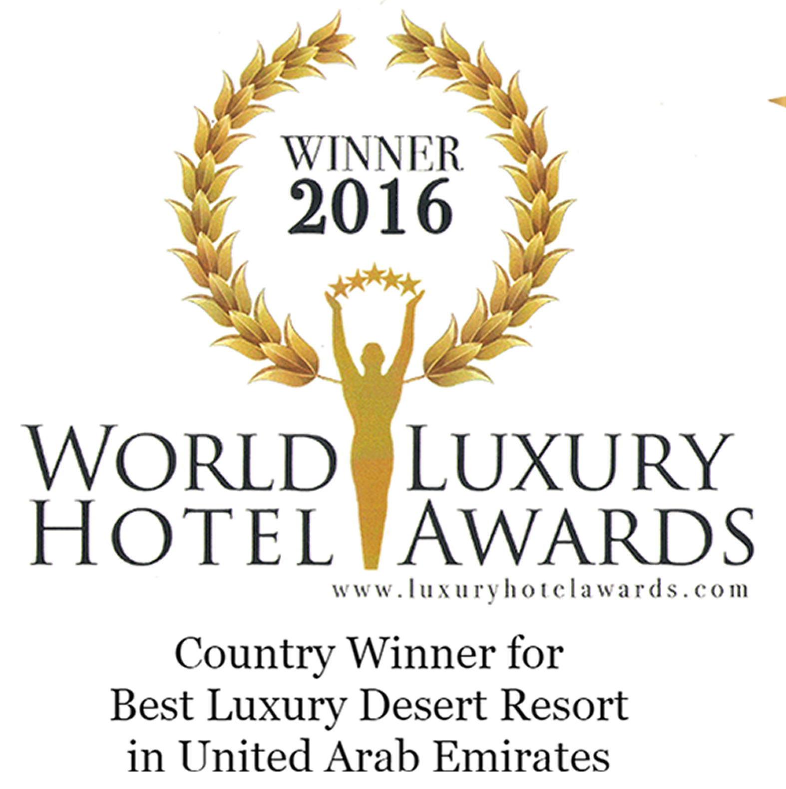 2016 wlha winner best luxury desert resort 2