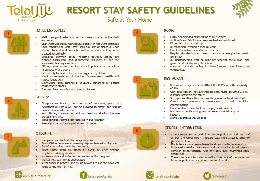 tl stay safety guidelines and protocol